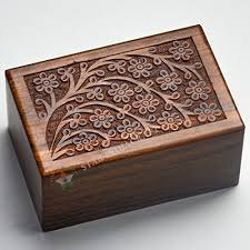 urns for dogs beautifully handmade tree of engraved wooden cremation urns for
