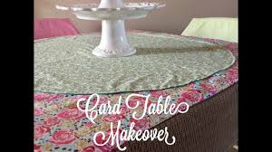 Round Elastic Tablecloth How To Sew A Table Cloth To Fit A Card Table By Sewspire Sewing