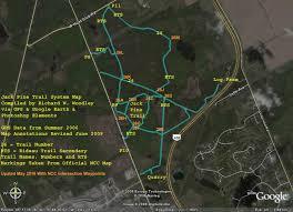 Ncc Campus Map Richard U0027s Gps Trail Maps Jack Pine U0026 Trail 26 Trail System