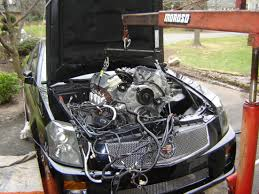 2007 cadillac cts transmission engine removal help