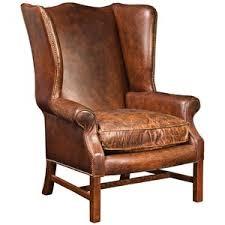 Wingback Chair Ottoman Design Ideas Chair Design Ideas Leather Wingback Chairs With Ottoman Wingback