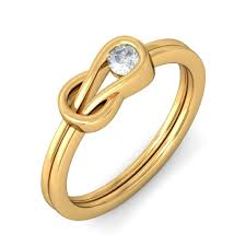 Best Wedding Ring Designers by Round Solitaire Designer Engagement Ring For Her In Gold