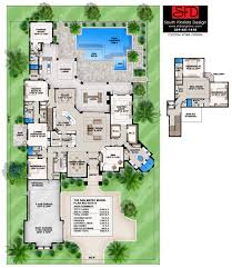 South Florida House Plans South Florida Designs Mediterranean 6 Bedroom House Plan South
