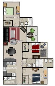 3 Bedroom Floor Plan by 215 Best Floor Plans Images On Pinterest House Floor Plans
