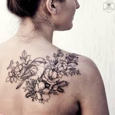 best 25 flower back tattoos ideas on pinterest heart with
