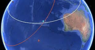 Draw Radius On Map Flight Mh370 U2014 Search Data In Google Earth Ogle Earth