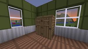 minecraft how to make a wardrobe youtube