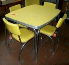 50 s kitchen table and chairs vintage 50 s dining set value of 1950 s chrome and formica table