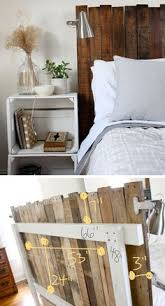 Simple Headboard Ideas by The Headboard My Husband Made Me Out Of Reclaimed Barn Lumber And