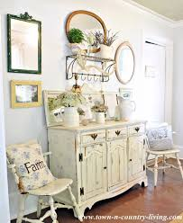 Country Buffet And Hutch Take A Tour Of My Cottage Style Farmhouse Town U0026 Country Living