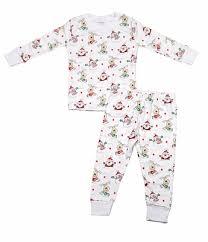 kissy baby toddler boys print pajamas