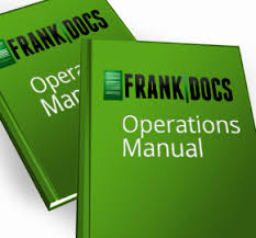 quality franchise documents templates and manuals frankdocs co