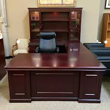 u shaped executive desk ofd it townsend 72x108 left u shaped executive desk with hutch