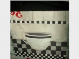 Coffee Themed Kitchen Curtains by Kitchen Curtains Coffee Themed Kitchen Curtains Inspiring