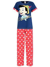disney pinocchio womens pinocchio pyjamas co uk clothing