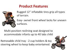 Rugged Stroller Baby U0026 Toddler Jeep Liberty Sport X All Terrain Stroller For Jogging U2026