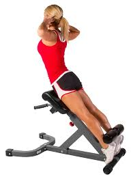 Adjustable Hyperextension Bench Costway Adjustable Ab Back Bench Hyperextension Exercise Abdominal