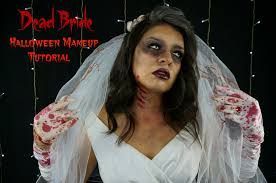 dead bride halloween makeup tutorial youtube
