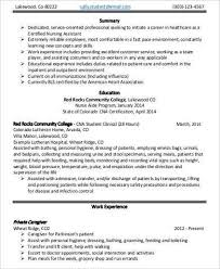 Resume Template For Nursing Assistant Entry Level Nursing Assistant Resume Professional Entry Level