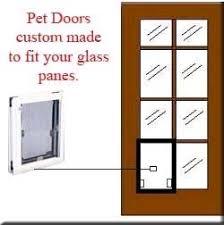 Patio Doors With Built In Pet Door Custom Made Pet Doors For French Doors
