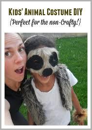 Sloth Animal Halloween Costume Daughter Needed Sloth Costume