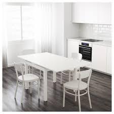 bjursta extendable table white 90 129 168x90 cm ikea
