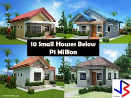 small house designs and floor plans 10 small home blueprints and floor plans for your budget below p1