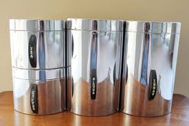 silver kitchen canisters kitchen astounding modern kitchen canister sets unique canister