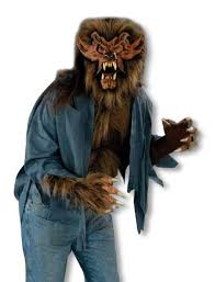 werewolf shirt brown for halloween horror shop com