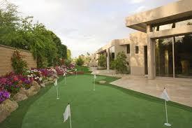 Artificial Backyard Putting Green by 25 Golf Backyard Putting Green Ideas Designing Idea