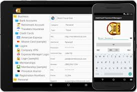 datavault password manager for android