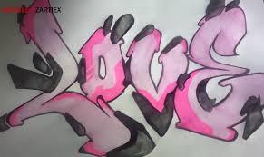 imagenes para dibujar letras graffitis como dibujar un graffiti de amor love arte taringa