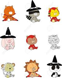 animals for halloween dress images