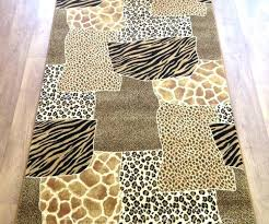 Leopard Area Rugs Walmart Leopard Area Rug Leopard And Zebra Animal Print Rug Leopard