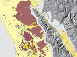 Tomales Bay Map Geogarage Blog New Maps Reveal California U0027s Sensational Seafloor