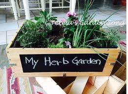 Herb Container Garden - teresa u0027s garden song wine crate container garden diy up cycle