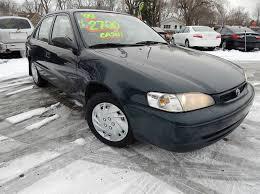 1999 toyota corolla problems 1999 toyota corolla ve 4dr sedan in indianapolis in california