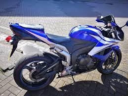 2007 honda cbr 600rr 57 600 rr7 new tyre r6 blue white fsh 2