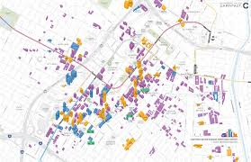 map of downtown los angeles cartifact