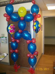 cheap balloon delivery service 7 foot balloonman palm balloon event decorating ideas