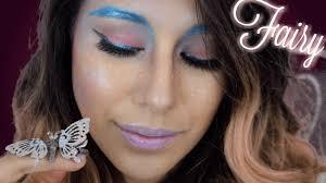 easy pink fairy makeup for halloween beginner youtube