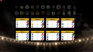 2015 16 concacaf champions league group stage draw soccer
