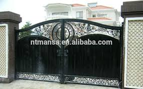 Bright Ideas Iron Gate Designs For Homes HomesFeed  Images - Gate designs for homes