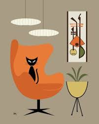Mid Century Modern Fabric Reproductions Best 25 Mid Century Modern Art Ideas On Pinterest Modern