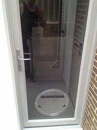 Patio Door Cat Flap Upvc Door Flap Unique Cat Flap In Glazed Patio Door