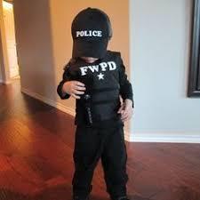 Kids Police Halloween Costume Easy Diy Police Costume Kids Sewing Diy Costumes