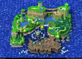 Super Mario World Map by Cgtalk Gamescapes 001 Super Mario World Theodor Berg 3d