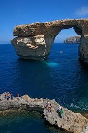 Azure Window Malta U0027s Iconic Azure Window Collapses Into The Sea As Country Left