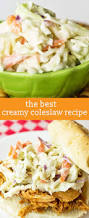 creamy coleslaw recipe an easy 10 minute picnic side dish idea