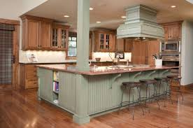 kitchen with an island visually appealing ideas for kitchen islands with a breakfast bar